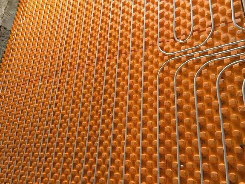 橙色地热模板