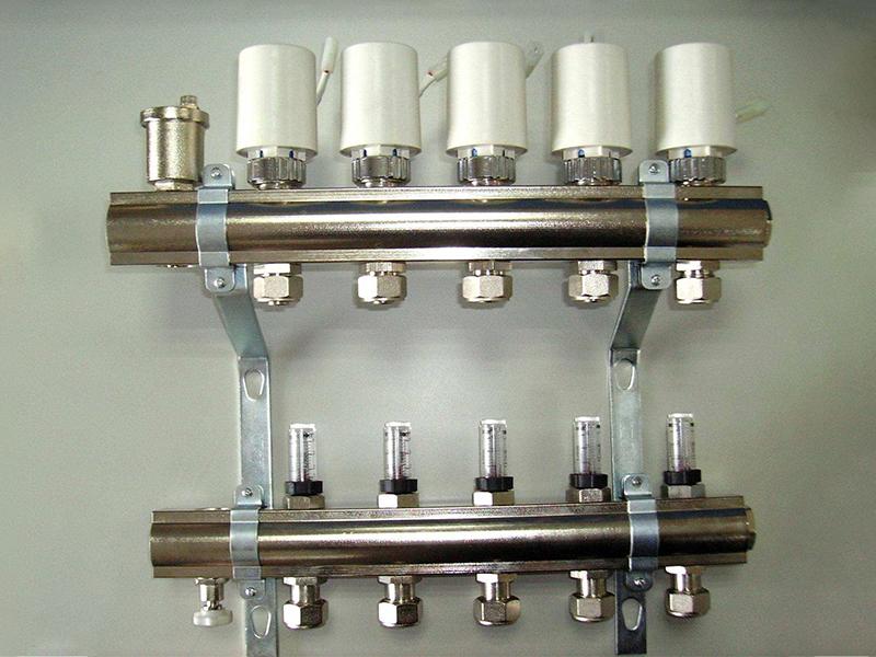 五管分水器